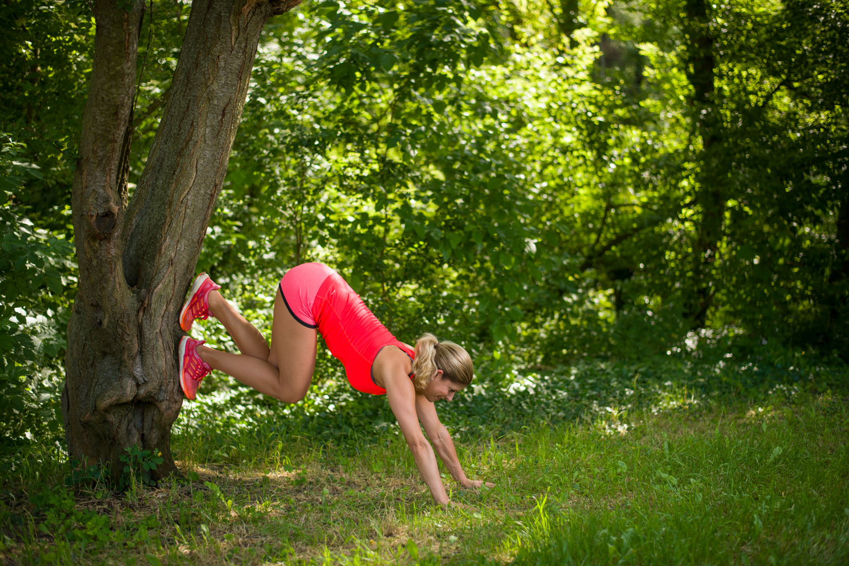 edzés a szabadban falra mászás