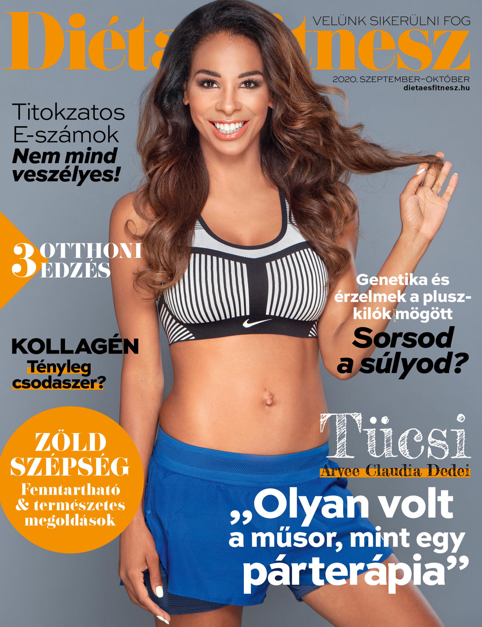 Diéta és Fitnesz 2020 ősz címlap